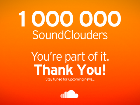 1.000.000 SoundClouders
