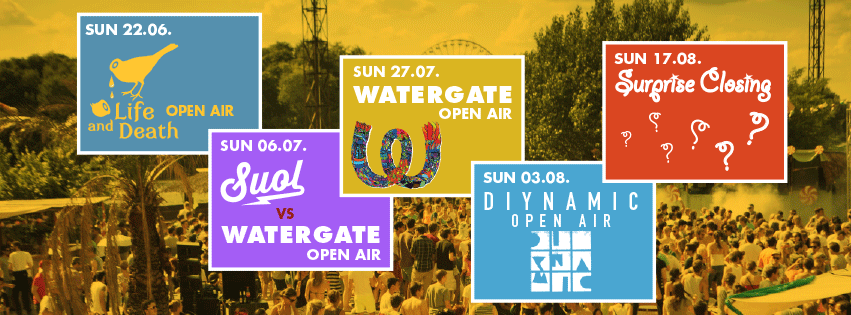 FLY WATERGATE OPEN AIRS 2014