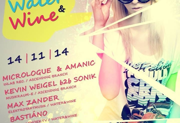 14.11.2014 – Water & Wine – Groovy Color Special #2 – Sanitätsstelle, Chemnitz