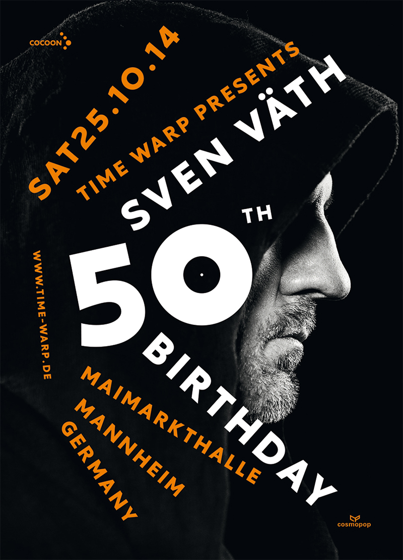 25102014 Sven Vath 50th Birthday Party Maimarkthalle Mannheim