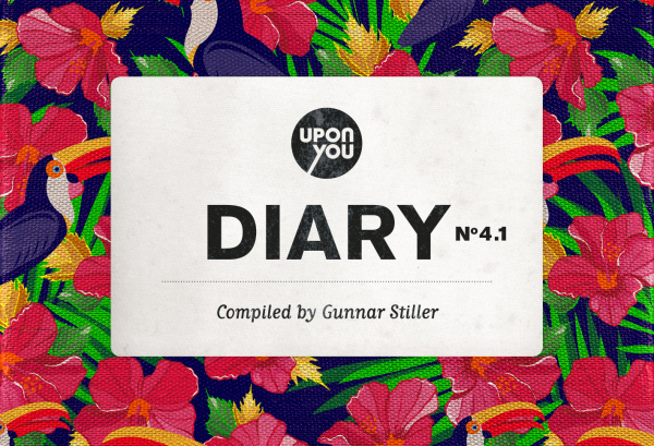Upon You Diary No. 4.1 compiled by Gunnar Stiller