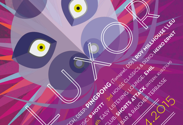25.04.2015 – Luxor Party im April mit Pingpong & Roy Millhouse – Luxor, Chemnitz