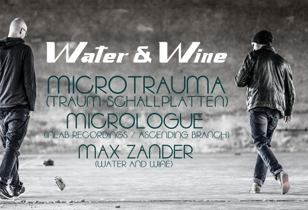 03.07.2015 – Water & Wine Open Air mit Microtrauma & Micrologue – Spinnerei, Chemnitz
