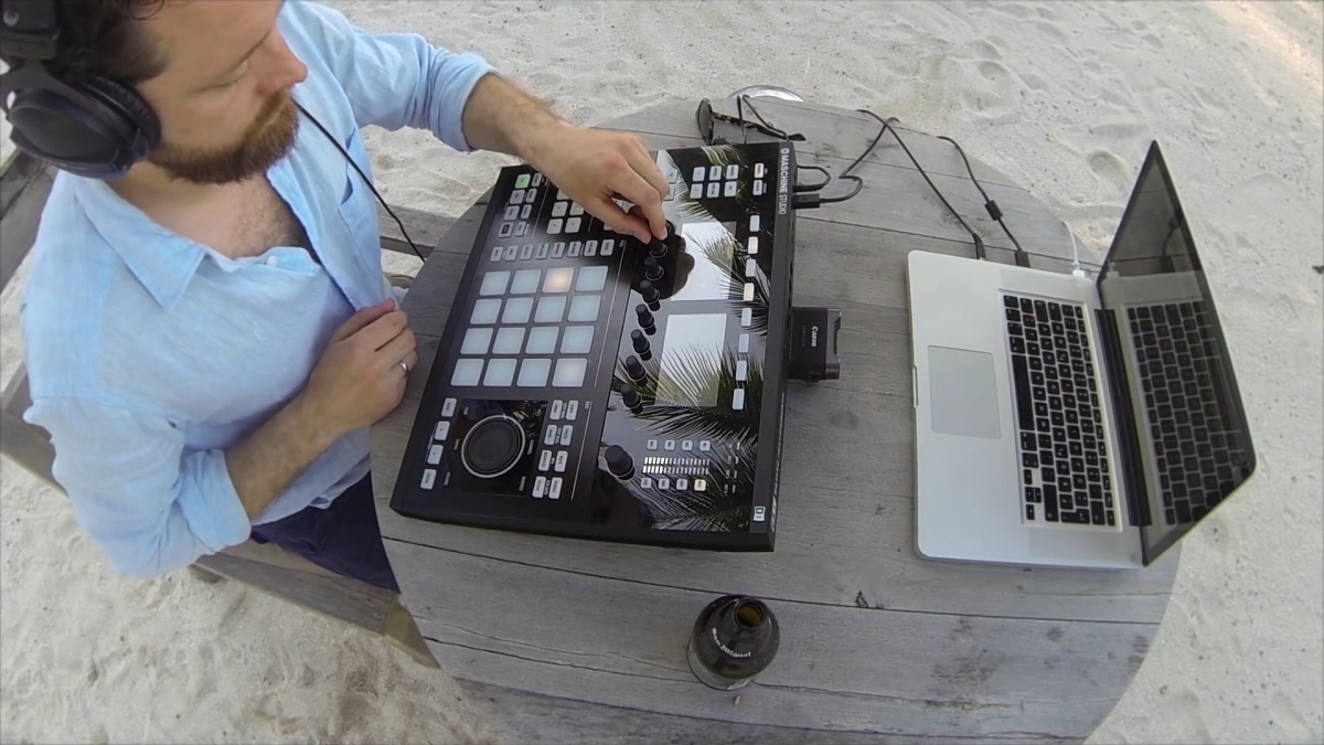 Dapayk und seine Native Instruments Maschine Studio