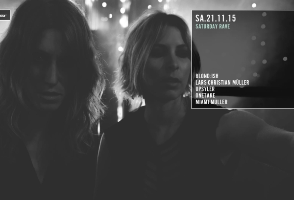 21.11.2015 – Saturday Rave mit Blondish – Distillery, Leipzig