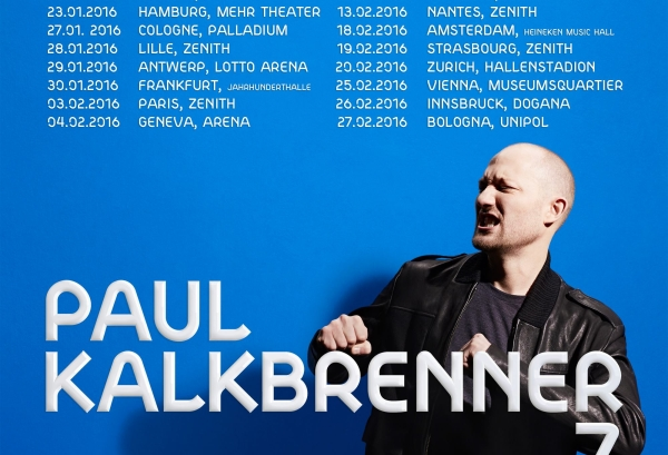 Paul Kalkbrenner Concert Tour 2016. Part I.