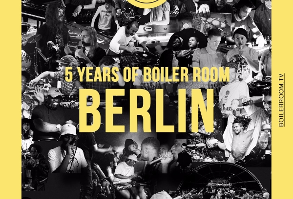 Boiler Room Berlin 5th Birthday