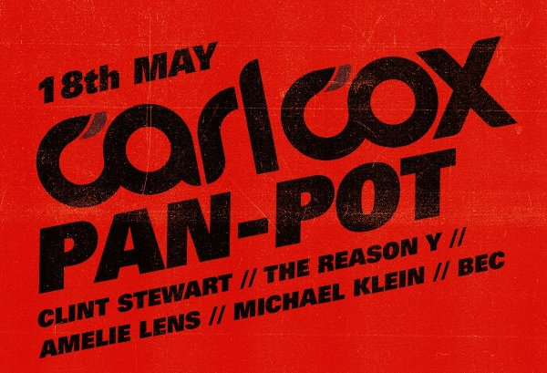18.05.2016 – Pan-Pot invites Carl Cox – Watergate, Berlin