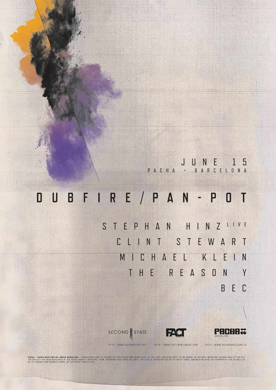 PAN-POT presents: SNDST with DUBFIRE