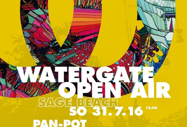 31.07.2016 - Watergate Open Air - Sage Beach, Berlin