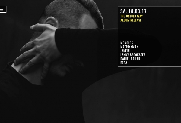 18.03.2017 - The Untold Way mit Monoloc & Matrixxman - Distillery, Leipzig