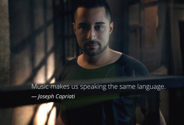 "Joseph Capriati: ""Music makes us speaking the same language"""