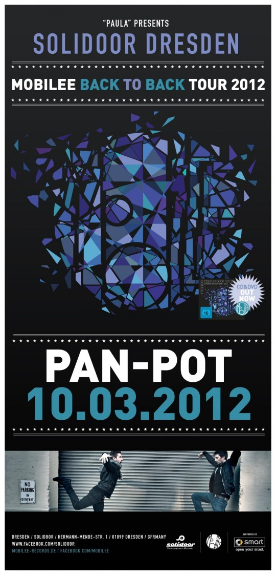 10.03.2012 - Pan-Pot mobilee back to back Tour 2012 - Solidoor Dresden