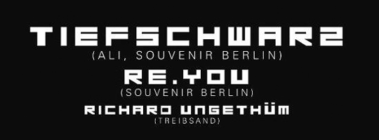 01.10.2011 - Tiefschwarz, Re.You - Brauclub Chemnitz