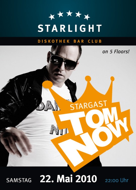 22.05.2010 – Starlight Chemnitz – Tom Novy
