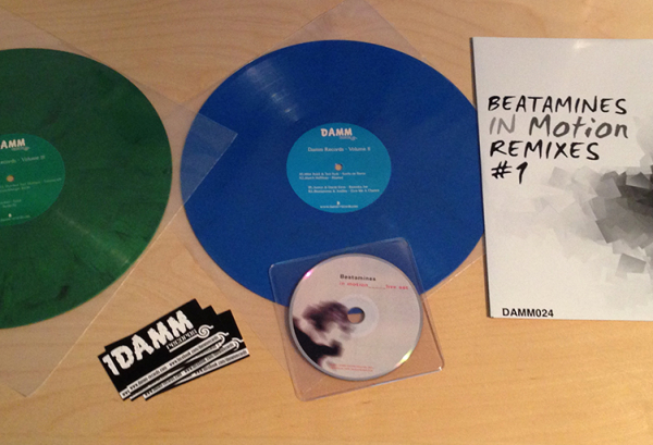 Damm Records Package