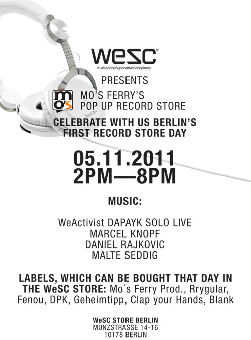 Mo´s Ferry Record Store Day